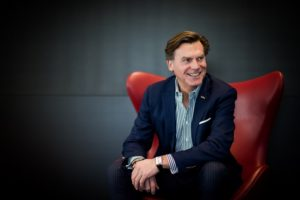 Wolfgang M. Neumann President og CEO for Rezidor Hotel Group