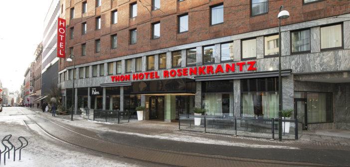 Thon Hotel Rosenkrantz Oslo gikk helt til topps i Berg-Hansens kåring.