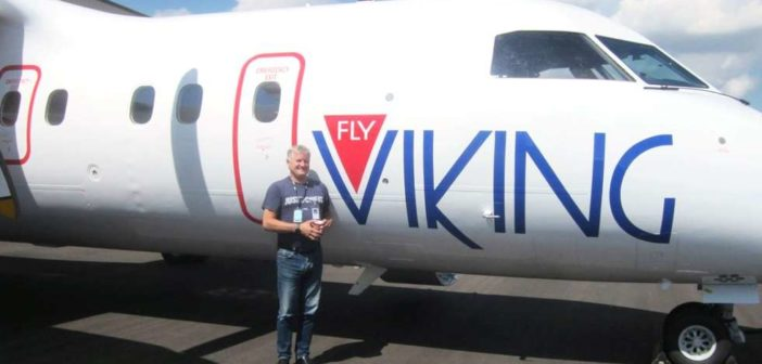 Ola O.K. Giæver og FlyViking starter opp med å satse på flyvninger mellom Tromsø og Hammerfest.