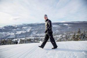 Daglig leder i Alpinco, Odd Stensrud, gleder seg over utviklingen i Kvitfjell.