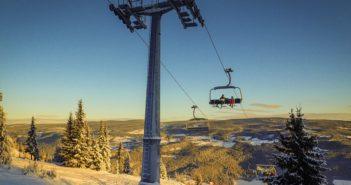En ny seks-seters heis i Kvitfjells tredje fjellside vil øke kapasiteten betydelig. (Foto: Bjørn Moholdt)