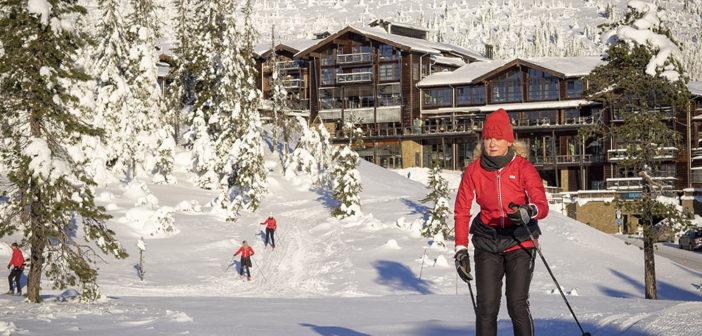 Norske vintersportssteder som Norefjell går mot en ny rekordvinter. (Foto: Bjørn Moholdt)