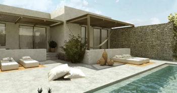 I august åpner Ving dørene til sitt andre Casa Cook-hotell, denne gangen på den greske øya Kos. (Illustrasjon).