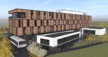 Slik blir det nye Norlandia-hotellet i Indre Østfold.