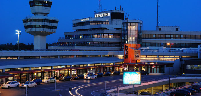 Tegel-flyplassen i Berlin rammes av dagens streik.